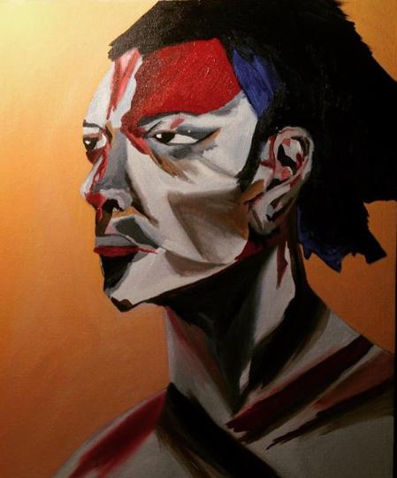 This is a woman - Jamie Baer Swan Art